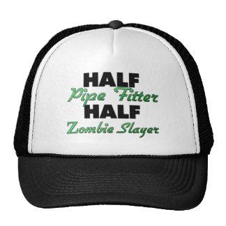 Half Pipe Fitter Half Zombie Slayer Hat