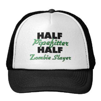 Half Pipefitter Half Zombie Slayer Mesh Hat