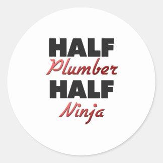 Half Plumber Half Ninja Sticker