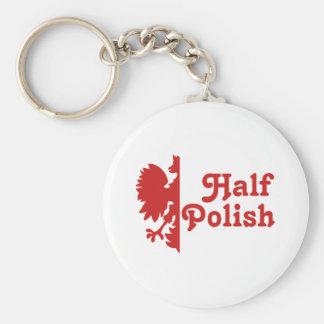 Half Polish Key Chain