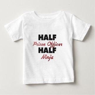 Half Prison Officer Half Ninja T Shirt