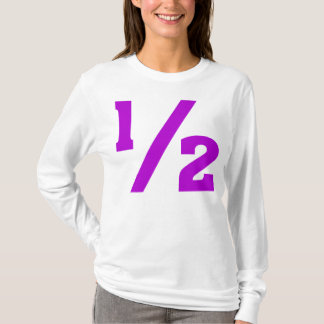 Half - Purple T-Shirt