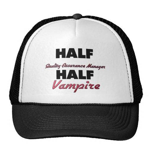 Half Quality Assurance Manager Half Vampire Hats