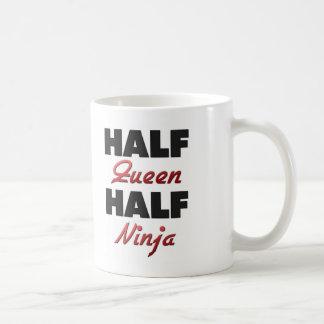 Half Queen Half Ninja Coffee Mug