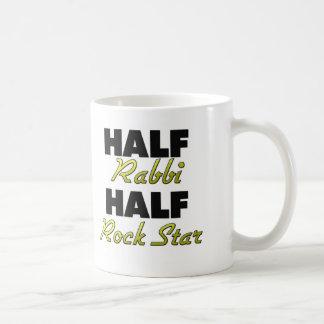 Half Rabbi Half Rock Star Mug