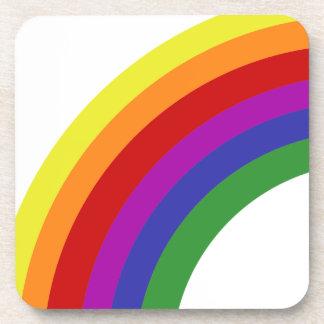 Half Rainbow Coaster