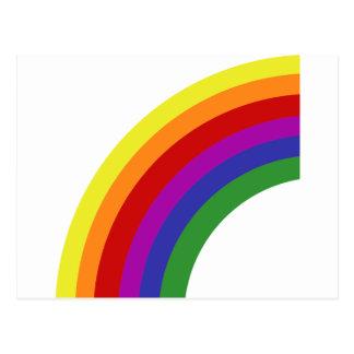 Half Rainbow Postcard