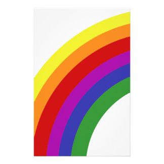 Half Rainbow Stationery