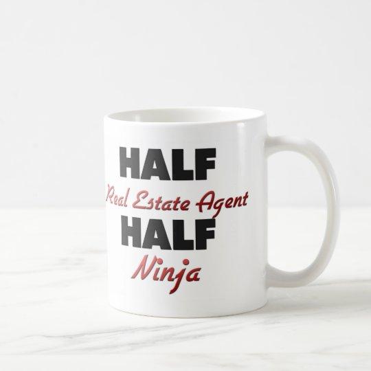 Half Real Estate Agent Half Ninja Coffee Mug