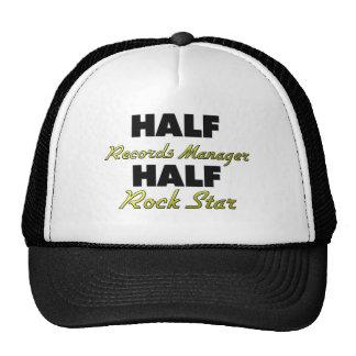 Half Records Manager Half Rock Star Hat