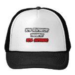 Half Respiratory Therapist...Half Superhero Trucker Hat