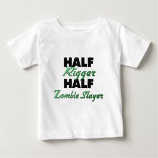 Half Rigger Half Zombie Slayer Baby T-Shirt