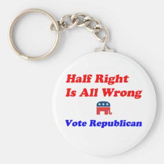 Half Right #1 Keychain