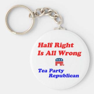 Half Right #2 Keychain