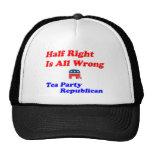 Half Right #2 Mesh Hat