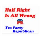 Half Right #2 Postcards