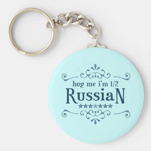 Half Russian Keychains