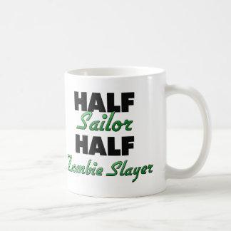 Half Sailor Half Zombie Slayer Coffee Mug
