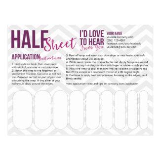 Half Sheet Postcards
