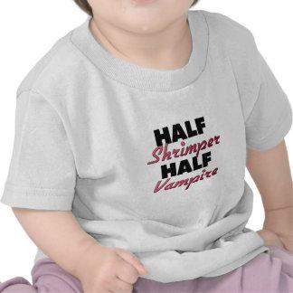 Half Shrimper Half Vampire T Shirts