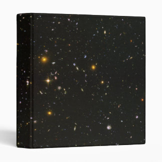 Half-Size Version of the Hubble Ultra Deep Field 3 Ring Binder