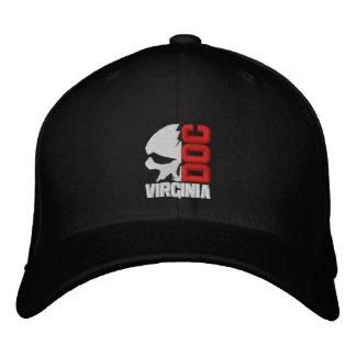 Half Skull Custom Baseball Cap