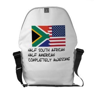 Half South African Completely Awesome Courier Bag