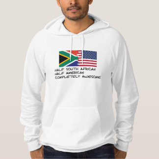 Half South African Completely Awesome Hoodie