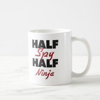 Half Spy Half Ninja Coffee Mug