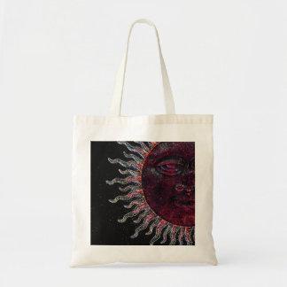 Half Sun Face Design Bag