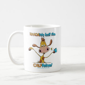 Half the CALFfeine Coffee Mugs