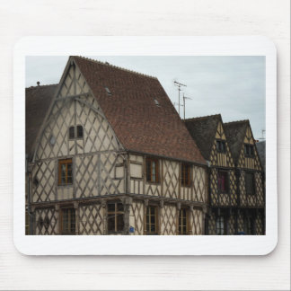 half-timbered house mouse pad