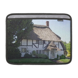 Half-Timbered Thatched Cottage Macbook Air Sleeve