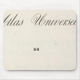 Half Title Atlas universel Asia Mouse Pad