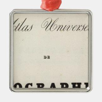 Half Title Atlas universel Asia Ornament