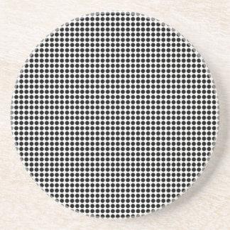Half Tone Spots Sandstone Coaster