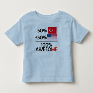 Half Turkish Half American Toddler T-shirt