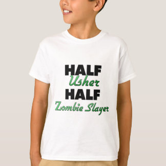Half Usher Half Zombie Slayer T-Shirt