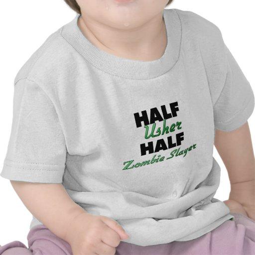 Half Usher Half Zombie Slayer Tee Shirt