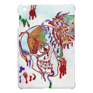 Half Vintage Skull iPad Mini Covers