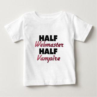 Half Webmaster Half Vampire Infant T-shirt