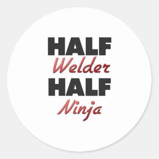 Half Welder Half Ninja Stickers
