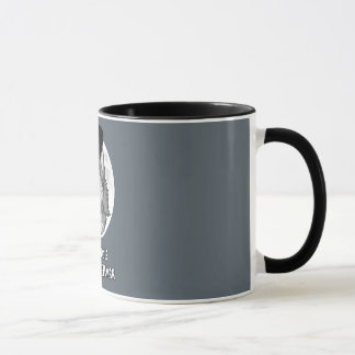 Half-Wolf Half-Gentleman 11 oz Ringer Mug