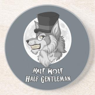 Half Wolf Half Gentleman Coaster