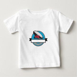 Half Zeppelin Blimp Half Semi-Truck Flying Overhea Shirt