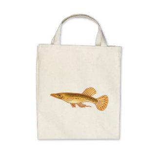 Halfbeak Fish Tote Bag