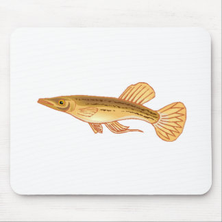 Halfbeak Fish Mousepads