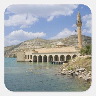 Halfeti Merkez Camii Central Mosque) partly Square Sticker