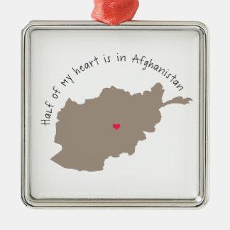 halfheartafghanistan.png metal ornament