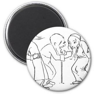 halfling-4 imán redondo 5 cm